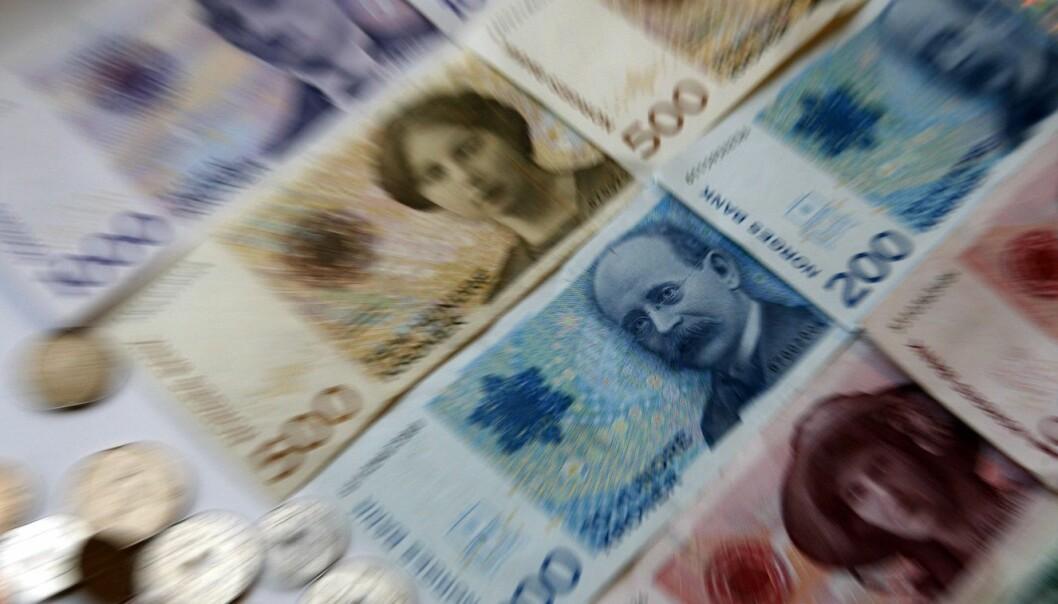 Vi har så mye penger i Norge at vi burde ha råd til den beste kreftbehandlingen, et godt forsvar, gratis skolemat, lavere skatter og bensinpriser og for guds skyld ingen bompenger. Eller? (Illustrasjonsfoto: Gorm Kallestad, NTB scanpix)