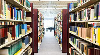 Etterlyser mer bruk av skolebibliotekene i undervisningen
