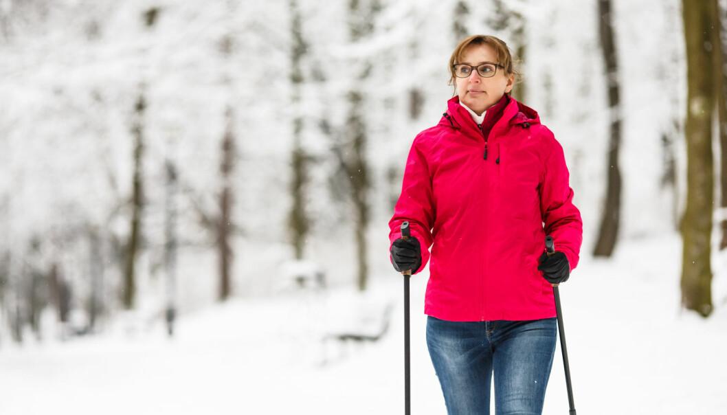 Kvinner som skiller seg etter overgangsalderen, beveger seg mer etter at de skiller seg. (Foto: Shutterstock / NTB scanpix)
