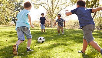 Løkkefotball er starten på ein vellykka fotballkarriere