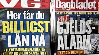 Det er blitt typisk norsk å låne penger