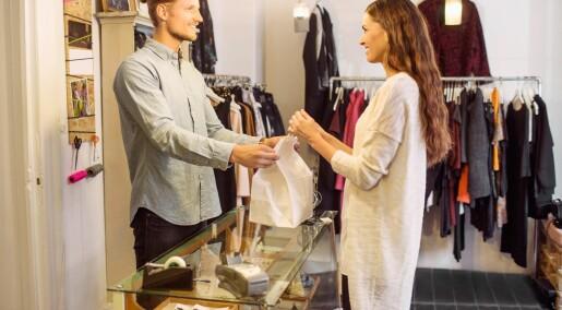 En av fire unge shopper når de ikke har råd