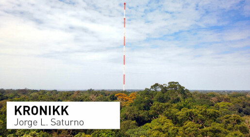 Hvis regnskogen i Amazonas dør, vil enorme mengder karbon slippes ut i atmosfæren
