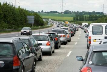 Tjærestoffer i bileksos er blitt et stort problem i byene. (Foto: Colourbox)
