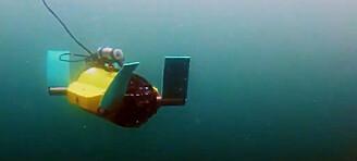 Denne robotskilpadden skal passe på laksen