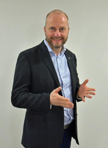 Øyvind Skogvold ved Trøndelag Forskning og Utvikling mener det er mindre interessant at instituttet han leder får kritikk. (Foto: Morten Stene, TFoU)