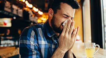 Vitamintilskudd beskyttet mot forkjølelse