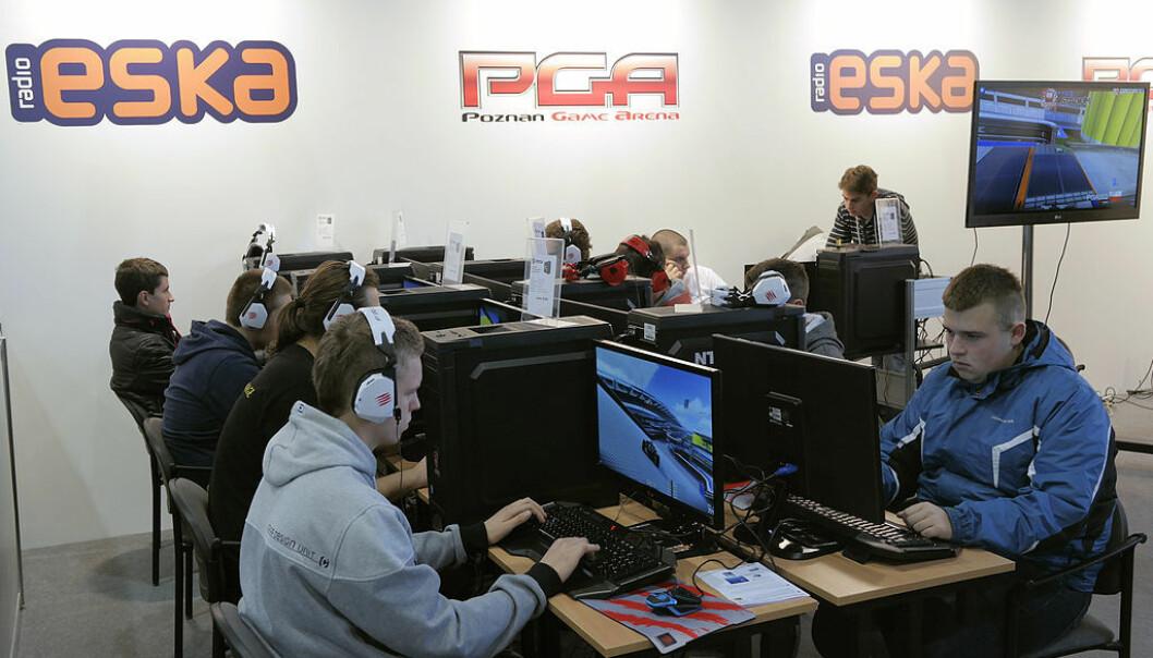 Opp mot 150 millioner mennesker fra hele verden ser på E-sport. De følger med på Twitch og andre streamingtjenester, der de kan se gamerne i ulike turneringer. (Foto: Wikimediacommons / Klapi / CC BY-SA 4.0)