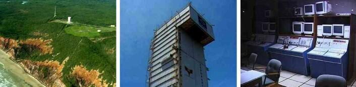 Disse bildene fra Brasils rakettbase ble tatt i 2001. (Foto: Arnfinn Christensen, forskning.no)