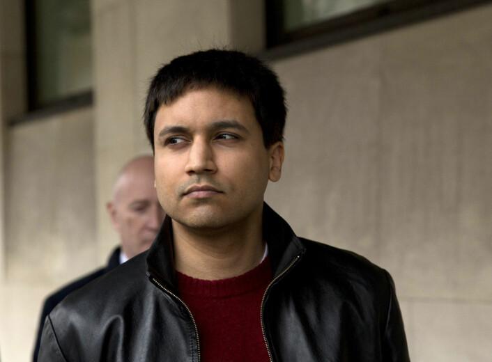 Savinder Singh Sarao har sagt seg skyldig i å ha fått aksjerobotene sine til å legge inn falske ordre som medvirket til et lynkræsj på New York-børsen. (Foto: Matt Dunham / NTB scanpix)
