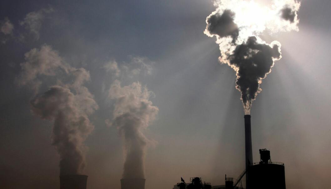 Mindre kullkraft i Kina er en av hovedårsakene til at verdens CO2-utslipp har gått ned. Men skal vi oppfylle klimamålene, må vi også fange mer av klimagassene vi tilfører atmosfæren, mener norske forskere. (Foto: David Gray/Reuters/NTB scanpix)