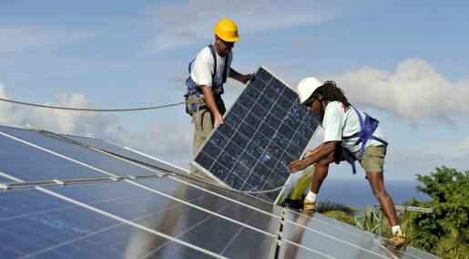 Energiprofessor: Dropp solceller på taket