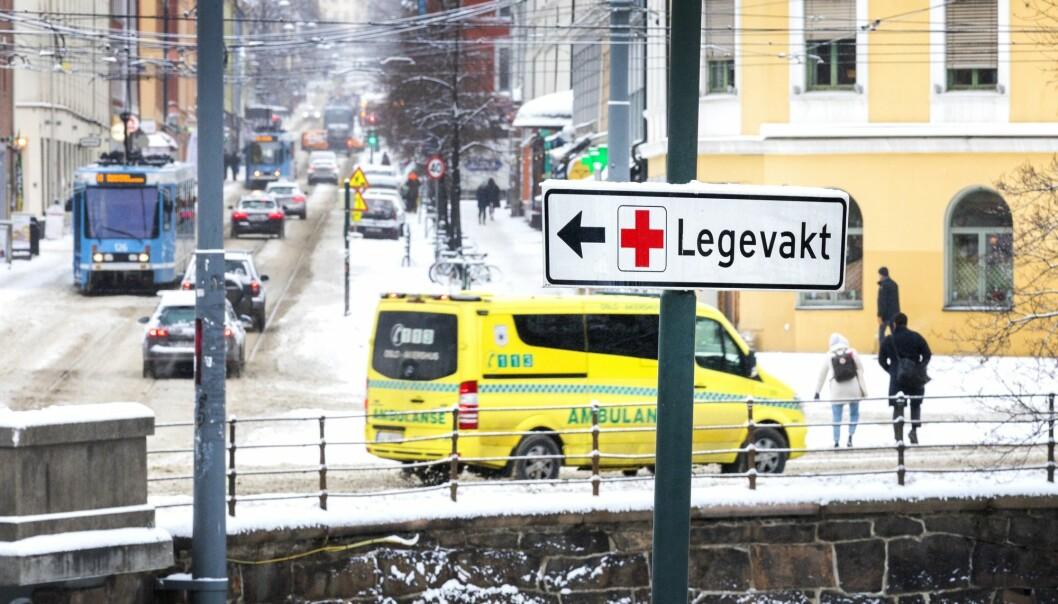 Rapporten «Skadebildet i Norge» fastslår at hjemmeulykker øker kraftig med alder, og særlig blant kvinner. (Illustrasjonsfoto: Gorm Kallestad / NTB scanpix)