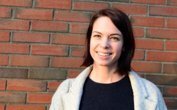 Heidi Fischer Bjelland, sosiolog og doktorgradsstipendiat ved Politihøgskolen. (Foto: Silje Pileberg)