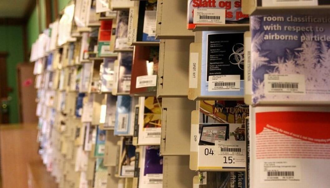 Tilgang til vitenskapelige tidsskrifter har blitt holdt åpne under forhandlingene. (Foto: Tor H. Monsen)