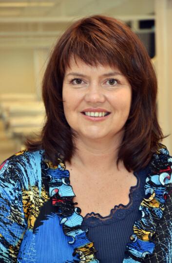 Professor Mariann Fossum ved Institutt for helse- og sykepleievitenskap, Universitetet i Agder. (Foto: UiA)
