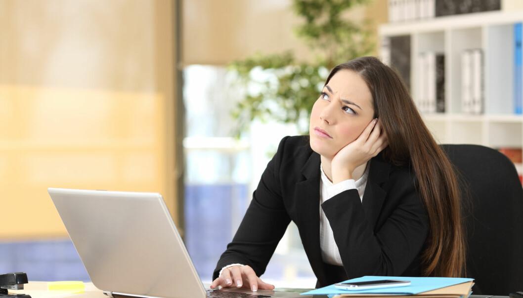 Er du den lojale medarbeideren, som stiller opp selv om det kan være irrasjonelt? Eller er du så misfornøyd at du er klar til å sabotere eller dra før oppsigelsestiden er over? (Foto: Antonio Guillem / Shutterstock / NTB scanpix)