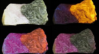 Forskerens favoritt: Denne steinen kan skifte farge på et blunk