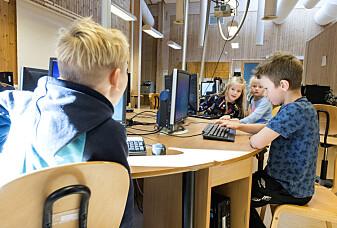 9-åringer sitter mer stille enn før