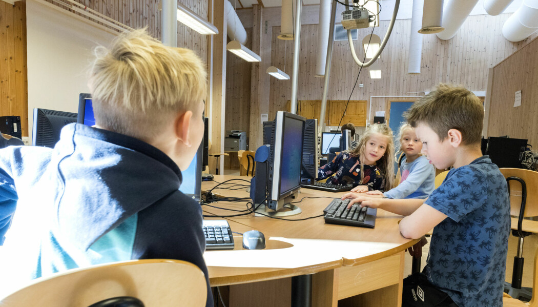 – Barna sitter ekstra mye stille i skoledagen, men ikke rundt spisetider, sier en av forskerne. (Illustrasjonsfoto: Gorm Kallestad / NTB scanpix)