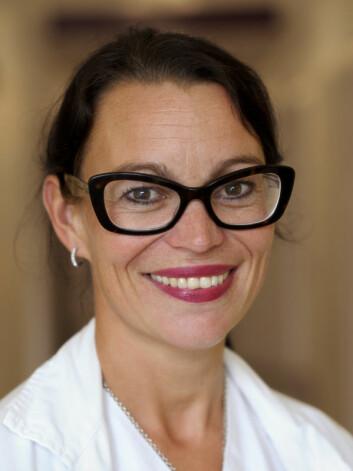 Lege og forsker Hege Ihle-Hansen mener at slagpasienter får liten oppfølging i Norge i dag. (Foto: Bærum sykehus)