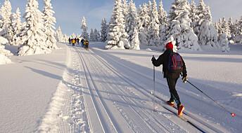 Kvinner og menn velger ulik teknikk i skisporet