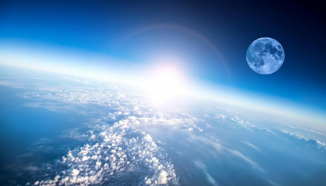 Ozonlaget absorberer en del av strålingen fra sola, og hindrer den i å nå jordoverflaten. (Foto: Colourbox)