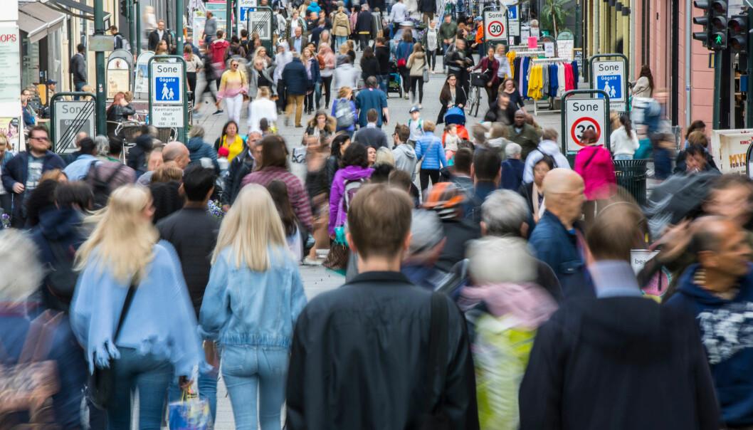 Ved å skape digitale varianter av det norske samfunnet håper forskere å finne løsninger på sosiale konflikter. (Illustrasjonsfoto: Vidar Ruud / NTB scanpix)