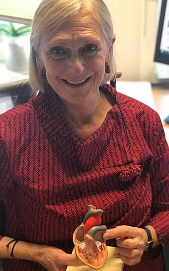 Maja-Lisa Løchen har lenge interessert seg for hva som skjer med hjernen til dem som har hjerteflimmer. Nå vet hun mer om dette. (Foto: Siw Ellen Jakobsen)