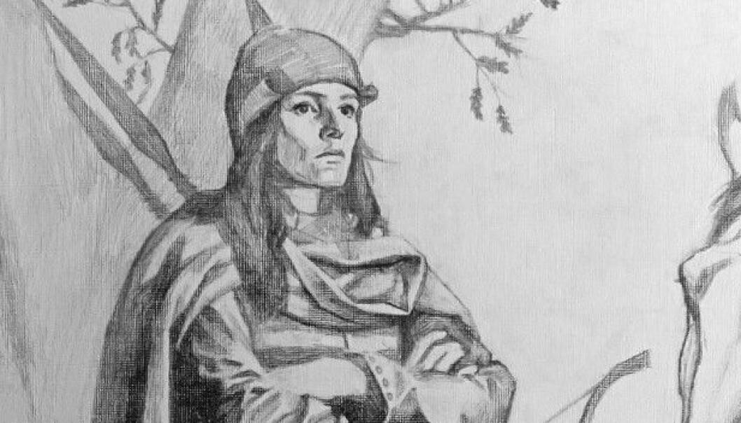 I 150 år trodde alle at krigeren i graven var en mann