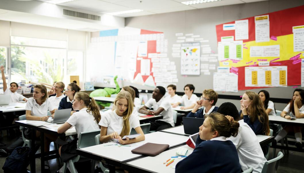 Hva påvirker utdanningsvalget til elever? Medelevers klassebakgrunn og foreldrenes utdanning har mye å si, viser ny studie. (Illustrasjonsfoto: Rawpixel.com / Shutterstock / NTB scanpix)