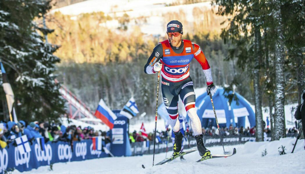 Martin Johnsrud Sundby har sagt til VG at teknologien kan ha vært helt avgjørende for at han fikk sitt etterlengtede individuelle gull på 15 kilometer klassisk i VM i Seefeld. (Foto: Raul Mee / AP / NTB scanpix)