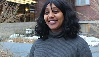 Selamawit Seid Nega har intervjuet 600 gravide kvinner i Etiopia. (Foto: Bjarne Røsjø, UiO).