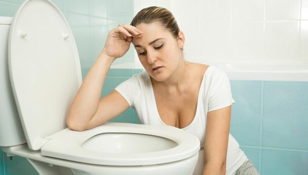 Både diare og oppkast er kroppens måte å kvitte seg med farlig materiale i magen og tarmsystemet.  (Foto: Colourbox)
