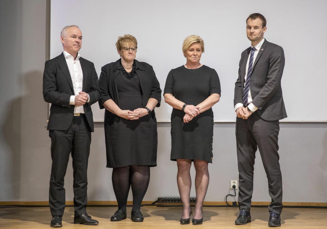 Ulikhetene er mindre i Norge enn i mange andre land. Samtidig øker ulikhetene også her hos oss. De fire borgerlige regjeringspartiene la fredag fram en stortingsmelding om ulikhetene. (Foto: Foto: Ole Berg-Rusten / NTB Scanpix)