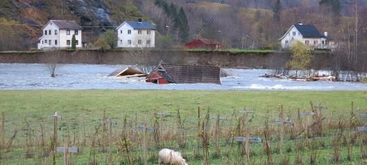 Regn vil forårsake framtidens flommer
