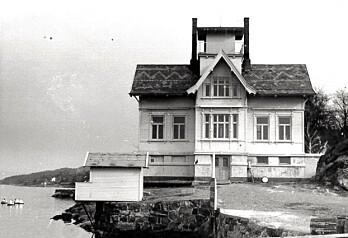 Universitetets marinbiologiske stasjon i Drøbak ble etablert i 1894. Det var her ekteparet Christiansen hadde base under innsamlingen av bunndyr i Oslofjorden. (Foto: Bengt Christiansen)
