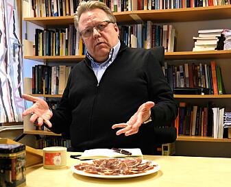 Sosialantropolog Jan Kjetil Simonsen skal undersøke hva grisen betyr for kultur, økonomi og identitet i et område sørvest i Spania. (Foto: Svein-Inge Meland)