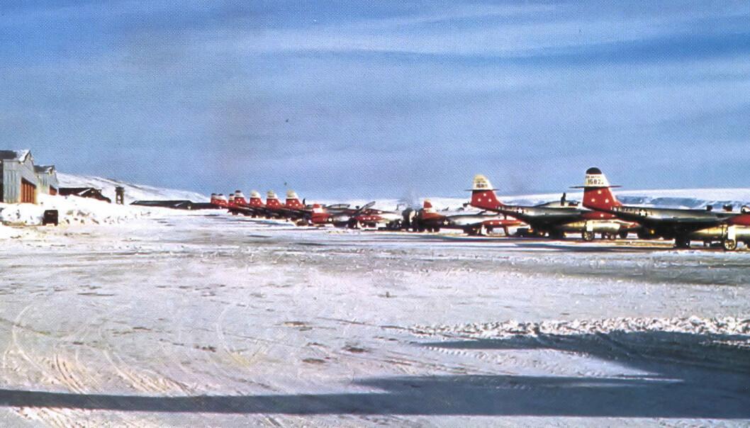 Et nytt grunnforskningsprosjekt avslører det fulle omfanget av den amerikanske regjeringens og militærets forsøk på å oppnå full kontroll over Grønland. Prosjektet viser at Danmark hadde mer kontroll enn vanligvis antatt.  (Foto: United States Air Force/USGOV-PD/Wikipedia)