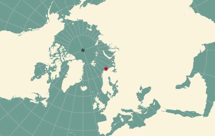 Kystsamfunnet i Vardø preges av sin nærhet til Barentshavet. (Utsnitt fra kartdesign av Brona Keenan)