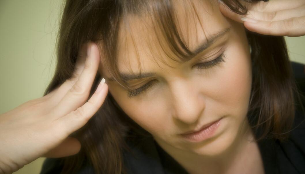 Forskere ved Universitetet i Bergen har funnet et sårbarhetsgen som kan gjøre noen spesielt utsatt for både migrene og bipolare lidelser.  (Foto: Plainpicture/NTB Scanpix)
