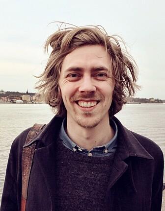Anders Kvellestad, partikkelfysiker ved Imperial College i London. (Bilde: Kaja Berg)