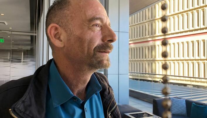 Timothy Ray Brown skrev i et legetidsskrift for noen år siden at han ikke ønsket å være den eneste i verden som er blitt kurert for hiv. Nå ser det ut som han har fått ønsket oppfylt. Bildet av Brown ble tatt i Seattle i USA mandag. (Foto: Manuel Valdes / AP / NTB scanpix)