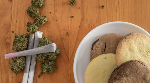 Salget av snacks økte der cannabis ble lovlig