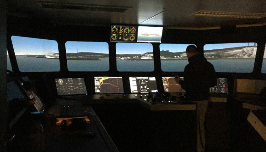 Kongsberg Digital AS er en av partnerne i EU-prosjektet, og har allerede levert avanserte simulatorer til USN. (Foto: USN)