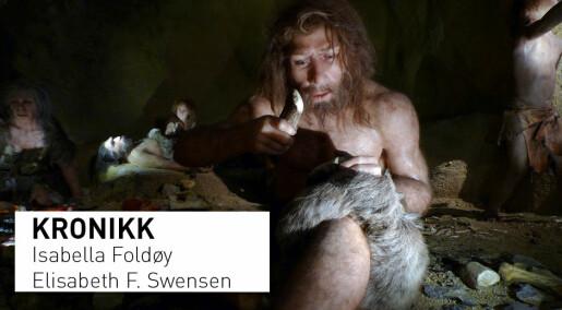 Hulemenn og husmødre, foreldede kjønnsroller og fordomsfulle holdninger i kommentar om neandertalere