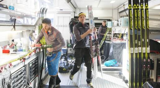 Folkehelsa og Miljødirektoratet advarer mot helsefarlig skismøring