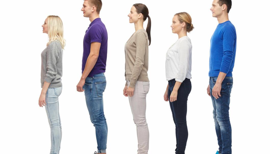Mange faktorer er med på å bestemme hvor høy du blir. Sjeldne gener kan være en av dem.  (Illustrasjonsfoto: Syda Productions / Shutterstock / NTB scanpix)