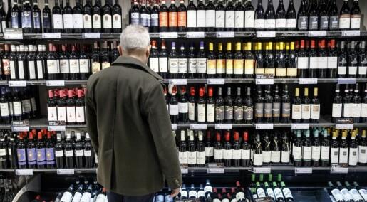 Nedgang i alkoholsalget