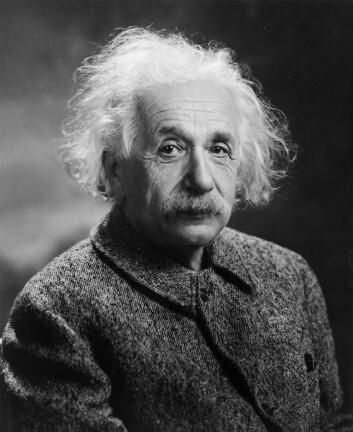 Albert Einstein ble født inn i en jødisk familie i Tyskland i 1879. I 1922 fikk han Nobelprisen i fysikk. (Foto: Oren Jack Turner, Princeton, N.J.)